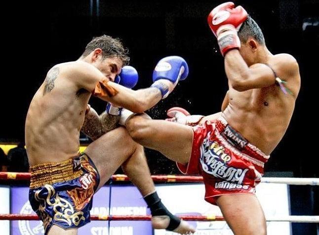 Odds på kampsport, muay thai