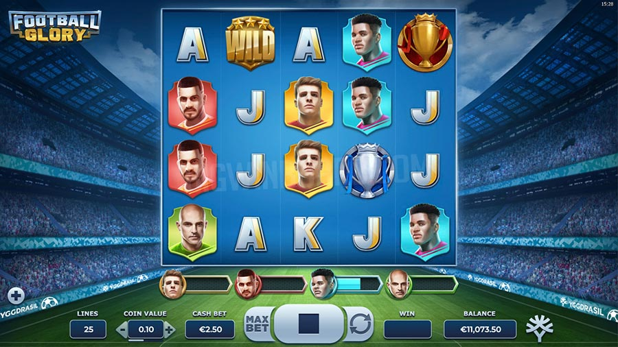 Football Glory spelautomat online